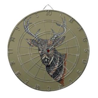 Dólar de los ciervos con diseño complejo diana