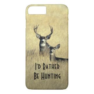 dólar masculino del ciervo mula de la cola blanca funda iPhone 7 plus