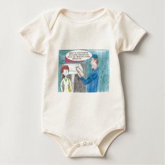 Dolor en la cartera body para bebé