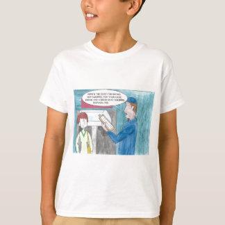 Dolor en la cartera camiseta