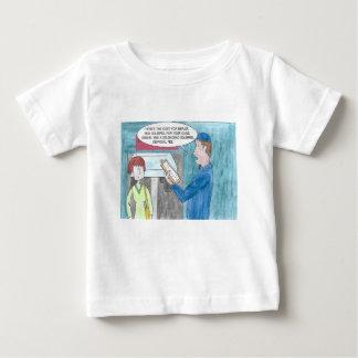 Dolor en la cartera camiseta de bebé