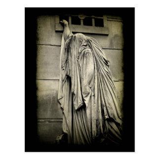 Dolor y dolor - tarjeta de condolencia fúnebre postal