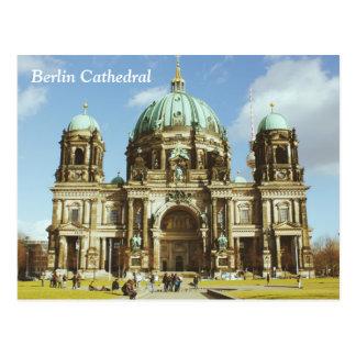 Dom evangélicos alemanes del berlinés de la postal
