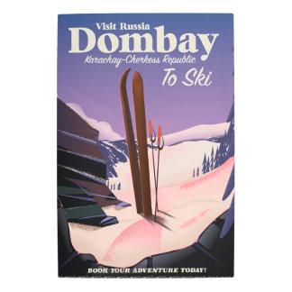 Dombay, poster del esquí de la república de