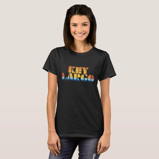 Dominante largo camiseta