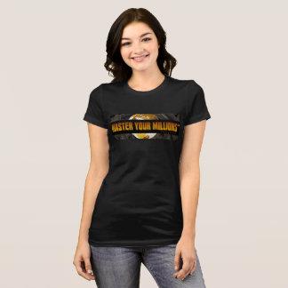 Domine Bella de sus mujeres de millones (TM)+Lona Camiseta