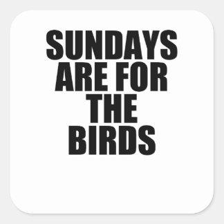 domingos pegatina cuadrada