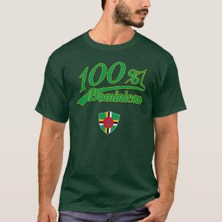 Dominican del 100% camiseta