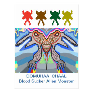 DOMUHAA CHAAL - Monstruo del extranjero del lechón Postal