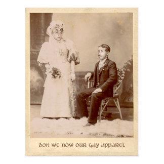 Don nosotros ahora nuestra postal gay del día de