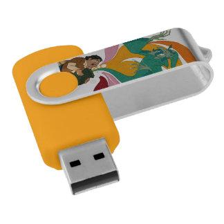 Don Quijote, autor y caracteres por el Memoria USB