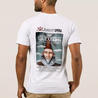 Don Quijote de AmApparelBasicMens Camiseta