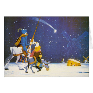 ¡DON QUIJOTE - ¡Feliz Navidad!  - Tarjeta Navidad