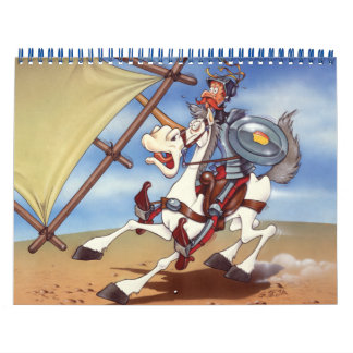 DON QUIJOTE - fondos de la animación Calendario