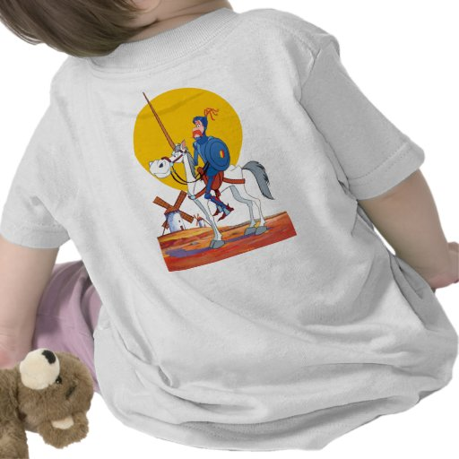 DON QUIJOTE, SANCHO, CAMISETA Camiseta de ROCINANT