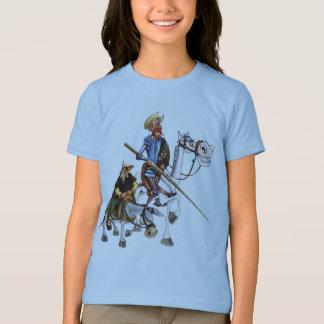 DON QUIJOTE, SANCHO, ROCINANTE y RUCIO - Camiseta