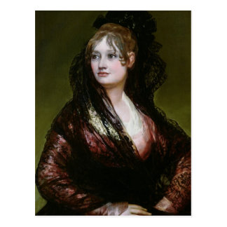 Dona Isabel de Porcel, exh. 1805 Postal