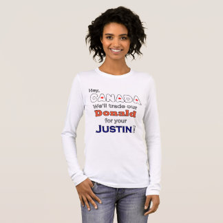 Donald comercial divertido para la camiseta anti