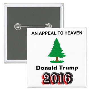Donald Trump 2016 - Una súplica al cielo Chapa Cuadrada