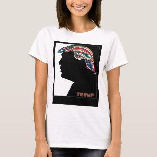 Donald Trump Combover psicodélico Camiseta