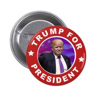 Donald Trump para el botón rojo de presidente