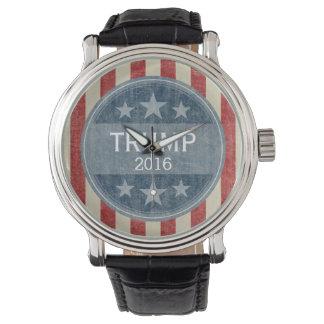 Donald Trump para el presidente 2016 Reloj