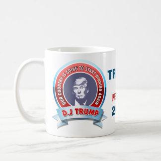 Donald Trump para el presidente 2016 Taza De Café