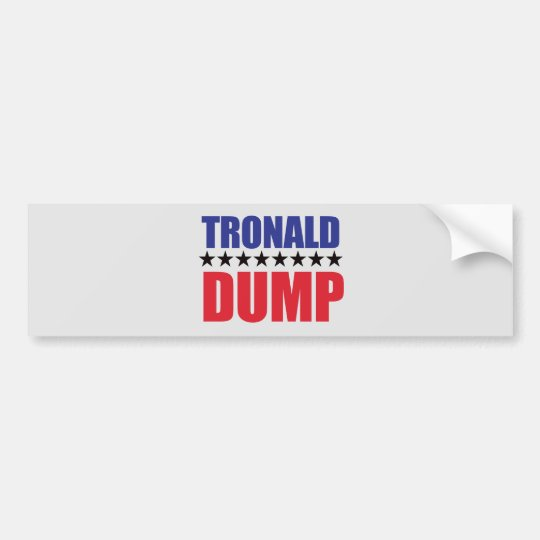Donald Trump - pegatina para el parachoques de la