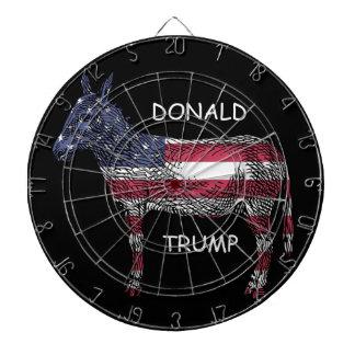 ¡Donald Trump - un qué burro! Diana