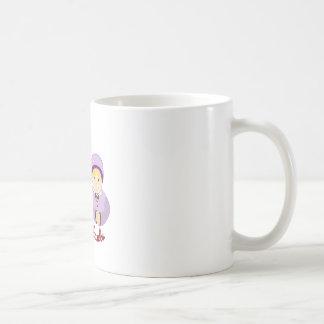 Donante de gracias taza básica blanca