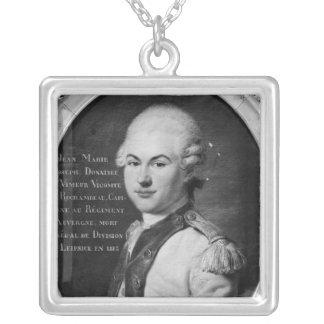 Donatien Marie José de Vimeur Collar Plateado