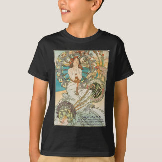 Doncella en rezo camiseta