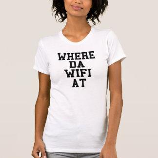 Donde DA Wifi en la camiseta Tumblr