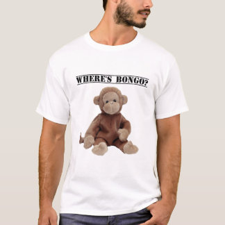 Donde está el bongo la camiseta del mono