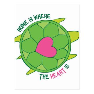 Donde está el corazón postal