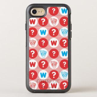 Donde está el modelo del rojo de Waldo, blanco y Funda OtterBox Symmetry Para iPhone 7