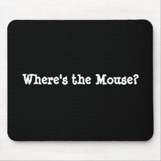 ¿Dónde está el ratón? Alfombrilla De Raton