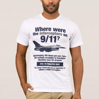 ¿Dónde estaban los 911 interceptores? La camiseta