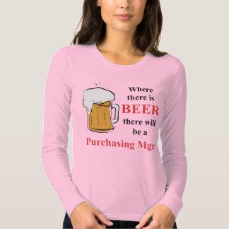 Donde hay cerveza - director de compras camisetas