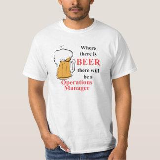 Donde hay cerveza - jefe de explotación camisetas