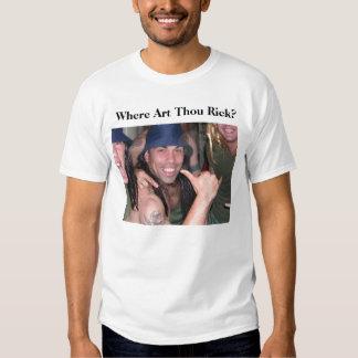 ¿Dónde mil Rick del arte? Camisas