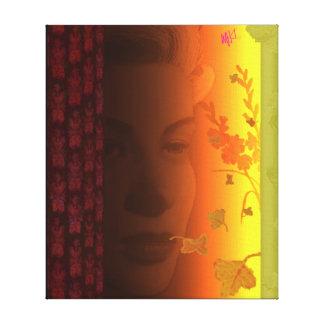 Donna Del Sole Impresión En Lona Estirada