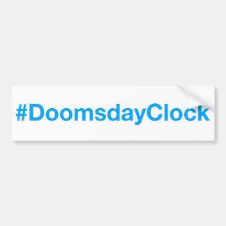 #DoomsdayClock Pegatina Para Coche