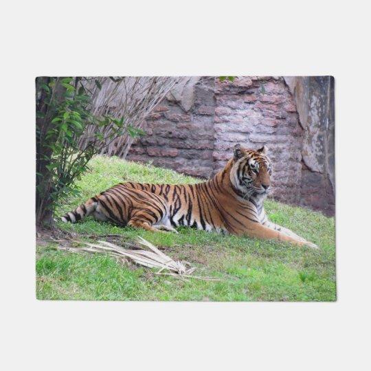 Doormat asiático del tigre
