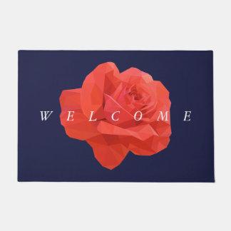 Doormat bajo rojo moderno de la recepción del rosa