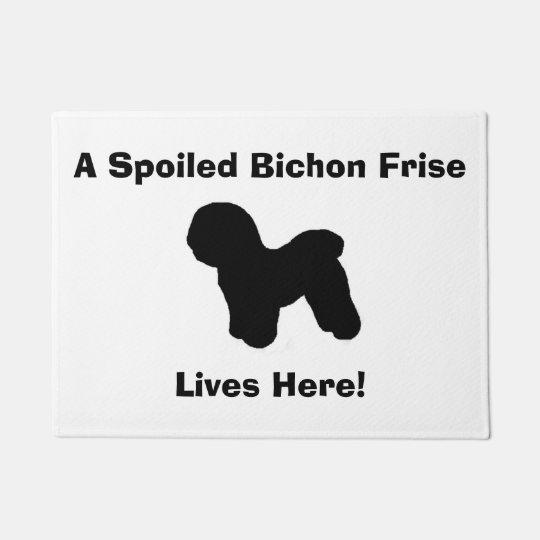 "Doormat de ""Bichon Frise"""