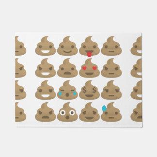 doormat de la estera de puerta de los emojis del