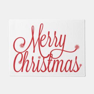 Doormat de las Felices Navidad