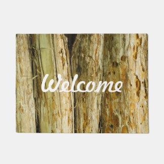 Doormat de madera agradable del modelo