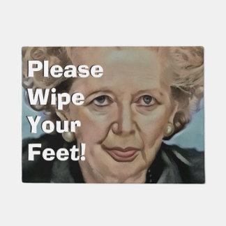 Doormat de Margret Thatcher